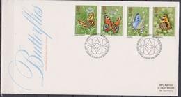 Grossbritannien 1981 MiNr.875 - 878 FDC Schmetterlinge ( E 87 )günstige Versandkosten - FDC