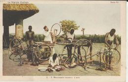 LA NIGRIZIA-MISSIONI DELL'AFRICA CENTRALE -IL MISSIONARIO MAESTRO D'ARTE -FP - Missioni