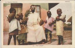 LA NIGRIZIA-MISSIONI DELL'AFRICA CENTRALE -MISSIONARIO TRA I PARGOLI -FP - Missioni