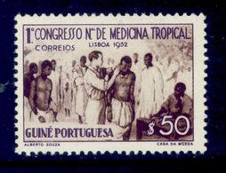 ! ! Portuguese Guinea - 1952 Tropical Medicine - Af. 266 - MH - Portuguese Guinea