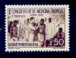 ! ! Portuguese Guinea - 1952 Tropical Medicine - Af. 266 - MH - Guinea Portoghese