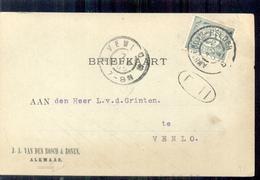 Alkmaar - J SA Van Den Bosch & Zonen - 1905 - Brieven En Documenten