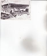 CPA SUISSE, AUMONT ,souvenir...( 1903) - NE Neuchâtel