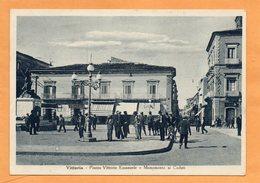 Vittoria Italy 1930 Postcard - Vittoria