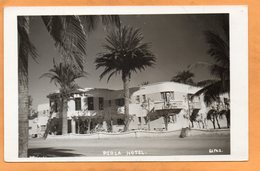 La Paz Perla Hotel Bolivia Old Real Photo Postcard - Bolivia