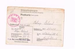 Kriegsgefangenensendung.Expédié Du Stalag XIII C Au Stalag IV C. (Deuxième Choix) - Guerre 40-45