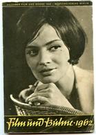 JAHRESKALENDER FILM UND BÜHNE 1962 - Kalender