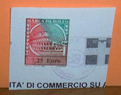 Fiscali Italia  Marca Bollo Euro 7,23 Su Frammento - 6. 1946-.. Republic