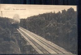 Baarn - De Trein Vertrekt - 1928 - Baarn