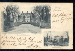 Arnhem - Steeg - Kasteel Middachten Lauersgracht - 1900 - Arnhem