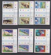 Barbados 1979 Space Project 6v Gutter (+margin) ** Mnh (42569) - Barbados (1966-...)