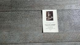 Faire Part Décès Général Julien Goubard Légion D'honneur 1877 La Roche Sur Yon 1948 Orléans  Généalogie Image Religieuse - Obituary Notices