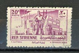 SYRIE : DIVERS - Yvert N° 66 Obli. - Syrie
