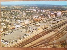 Lamballe.la Gare.vue Aérienne.semi Moderne Grand Format - Lamballe
