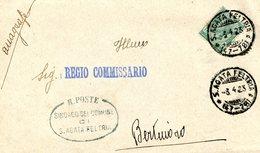 ITALY  1923 Enveloppe To REGIO COMMISSARIO.BARGAIN.!! - Andere