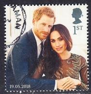2018 GB  Wedding Of Prince Harry & Meghan Markle 1st  Used - 1952-.... (Elizabeth II)