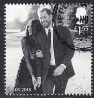 2018 GB  Wedding Of Prince Harry & Meghan Markle £1.55  Used - 1952-.... (Elizabeth II)