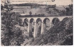 43  Haute-Loire -  PONT-SALOMON - Train Sur Le Viaduc De Barret - Ligne Fuminy à Annonay - France
