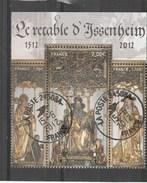 FRANCE 2012 ISSU DU BLOC LE RETABLE D ISSENHEIM 4675 - 4676 -4677 - OBLITERE - France