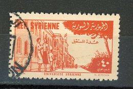 SYRIE : POSTE AERIENNE - Yvert N° 58 Obli. - Syrie