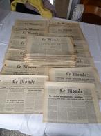 """Lot 30 Journaux """"le Monde """" Année 1959 - Books, Magazines, Comics"""