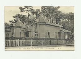 33 - ARCACHON -CP RARE - Villa Rochefoucault Bon état - Arcachon