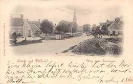 DELFZIJL NETHERLANDS~WEG NaarFARMSUM 1900 POSTMARK-van BORCHERT VOS PHOTO POSTCARD 40409 - Delfzijl