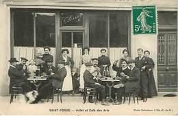 03 Saint Yorre  Hotel Et Café Des Arts - Frankreich
