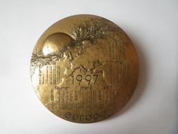 Medaille Monnaie De Paris Calendrier 1997  EUROPE - France