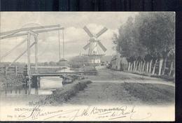 Benthuizen - Vaart Korenmolen Molen - 1904 - Nederland
