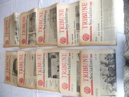 """Lot 10 Journaux """"tribune """" Socialiste Année  62 - Books, Magazines, Comics"""