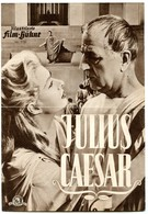 "MARLON BRANDO In ""JULIUS CAESAR"" USA 1953 Original German Film Program - Film & TV"