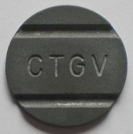 Brasil Telephone Token      CTGV   1  F  4  Coin Aligment - Monétaires / De Nécessité