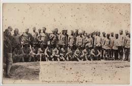 1160 GREECE GROUPE DE SOLDATS JOUGOSLAVE A MIKRA - Personaggi