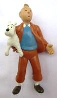 FIGURINE TINTIN ET MILOU HERGE CE 2 1994 TL PLASTOY - Tintin
