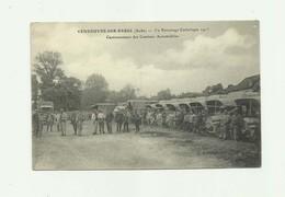 10 - VENDEUVRE Sur  BARSE - Au Patronage Catholique 1915 Cantonnement Des Camions Automobiles Belle Animation Bon état - France