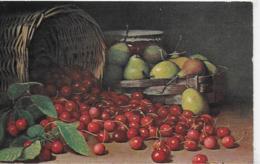 AK 0226  Stilleben Mit Obst ( Kirschen & Birnen ) - Künstlerkarte Um 1905 - Malerei & Gemälde