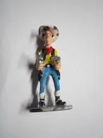 "Figurine Métal ""Lucky Luke"" (Lucky Comics 2007 - PLASTOY) Hauteur : 3,5 Cm Env - Beeldjes"