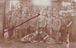 Feldschlachterei Boucherie De Champ  Carte  Photo Allemande - Guerre 1914-18