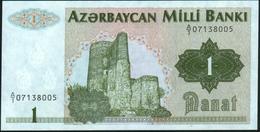 AZERBAIJAN - 1 Manat Nd.(1992) UNC P.11 - Azerbaïjan