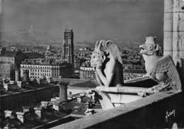 NOTRE DAME DE PARIS  Viollet-le-Duc Flèche église Cathédrale Gargouilles - Notre Dame De Paris