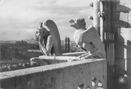 NOTRE DAME DE PARIS  Viollet-le-Duc Flèche église Cathédrale Chimere Gargouilles - Notre Dame De Paris
