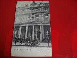 WARSZAWA TELEGRAF CACHET CHEMIN DE FER - Polonia
