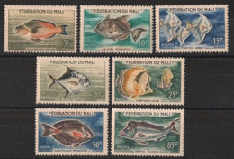 Mali - 1960 - N°Yv. 2 à 8 - Poissons / Fishes - Complete Set  - Neuf Luxe ** / MNH / Postfrisch - Fishes