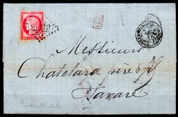 Cachet Constantinople 5082 Sur N° 57 - Levant (1885-1946)