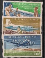Mali - 1963 - Poste Aérienne PA N°Yv. 16 à 18 - Air Mali - Neuf Luxe ** / MNH / Postfrisch - Mali (1959-...)