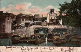 ! Alte Ansichtskarte Canton, China, Chine, 1908, Hongkong, Kiel - China