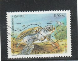 FRANCE 2014 LA TORTUE VERTE OBLITERE YT 4903  - - Frankreich