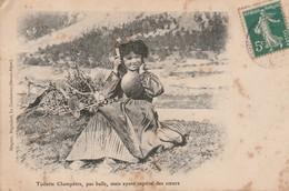 Enfants : Fillette : Toilette Champètre, Pas Belle, Mais Ayant Captivé Des Coeurs - Scènes & Paysages