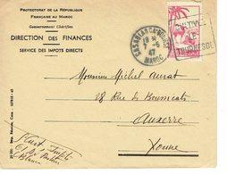 DAGUIN MAROC CASABLANCA BOURSE     H54 - Morocco (1891-1956)